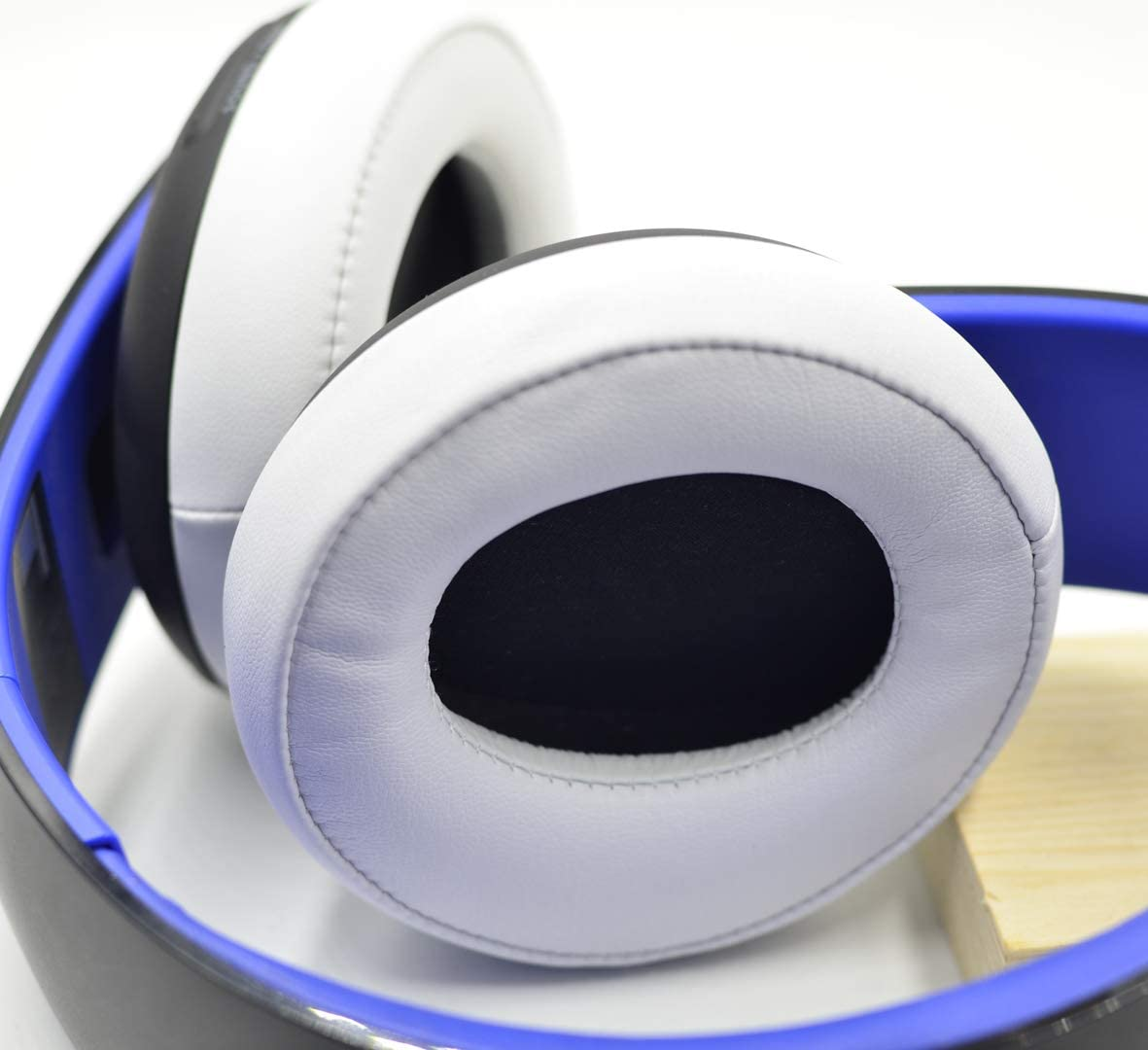 Defean Upgrade earpads Replacement for Sony Gold Wireless Headset PS3 PS4 7.1 Virtual Surround Sound CECHYA-0083 Headphone Blue