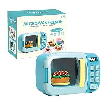 YMMONLIA Microondas de Juguete para niños Microondas con ...