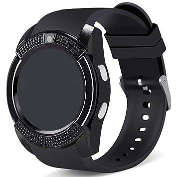 Amazon.com: WATTP Smart Watch, Bluetooth Smartwatch Touch ...