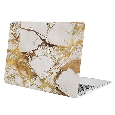 MOSISO Funda Dura Compatible 2018 MacBook Air 13 Pulgadas A1932 con Pantalla Retina & Touch ID, Ultra Delgado Carcasa Rígida Protector de Patrón de ...