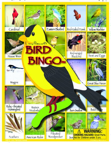 Bingo Bird - Bird Bingo Board Game