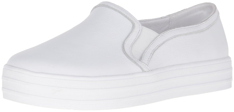 Skechers Damen OG 97-Shiny Sneaker, Silber  37 EU|Wei? / Silber