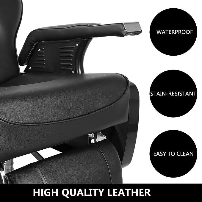 Amazon.com: SSLine - Silla de peluquería reclinable ...