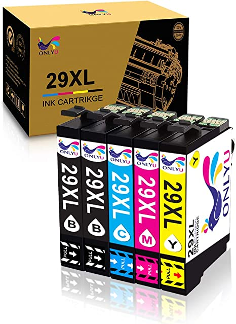 ONLYU Reemplazo de cartucho de tinta compatible para Epson 29XL ...