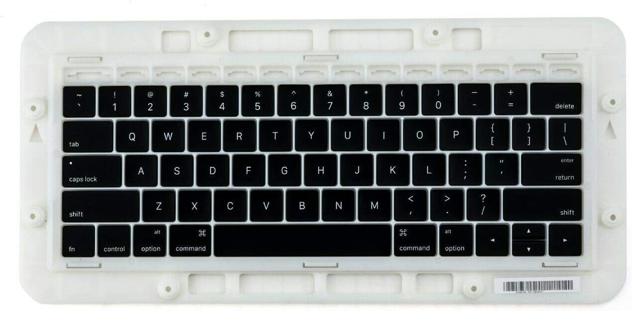 Willhom Keyboard Keys, Keycap US Set Replacement for MacBook Pro Touch Bar 13-inch A1706,15-inch A1707 2016 2017