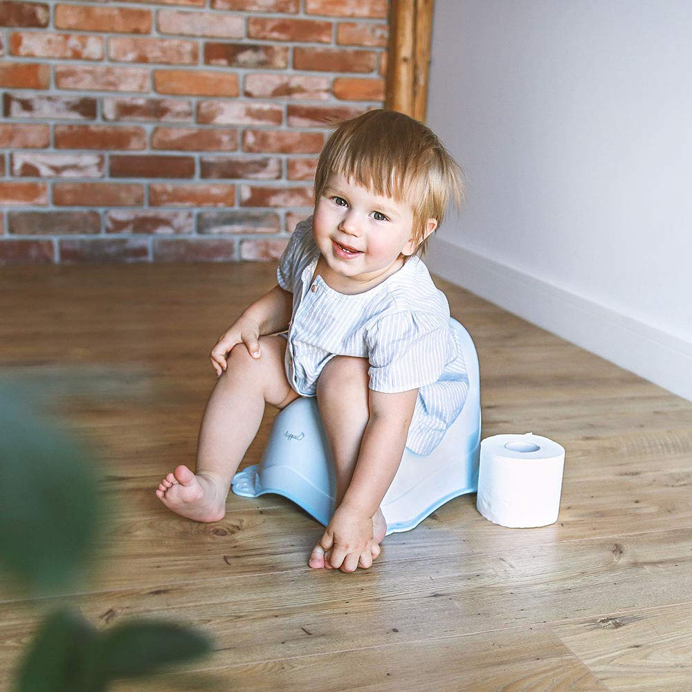 Topf Baby LUPPEE stabiles Babytopf f/ür Babys und Kinder Ab ca Blau T/öpfchen mit Anti-Rutsch-Funktion 18 Monate bis ca 3 Jahre Hund und Katze