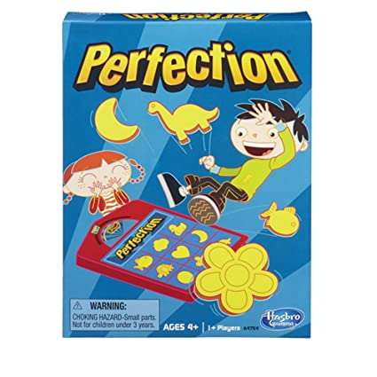 Amazon.com: Juego de mesa Hasbro Perfection, 25piezas ...