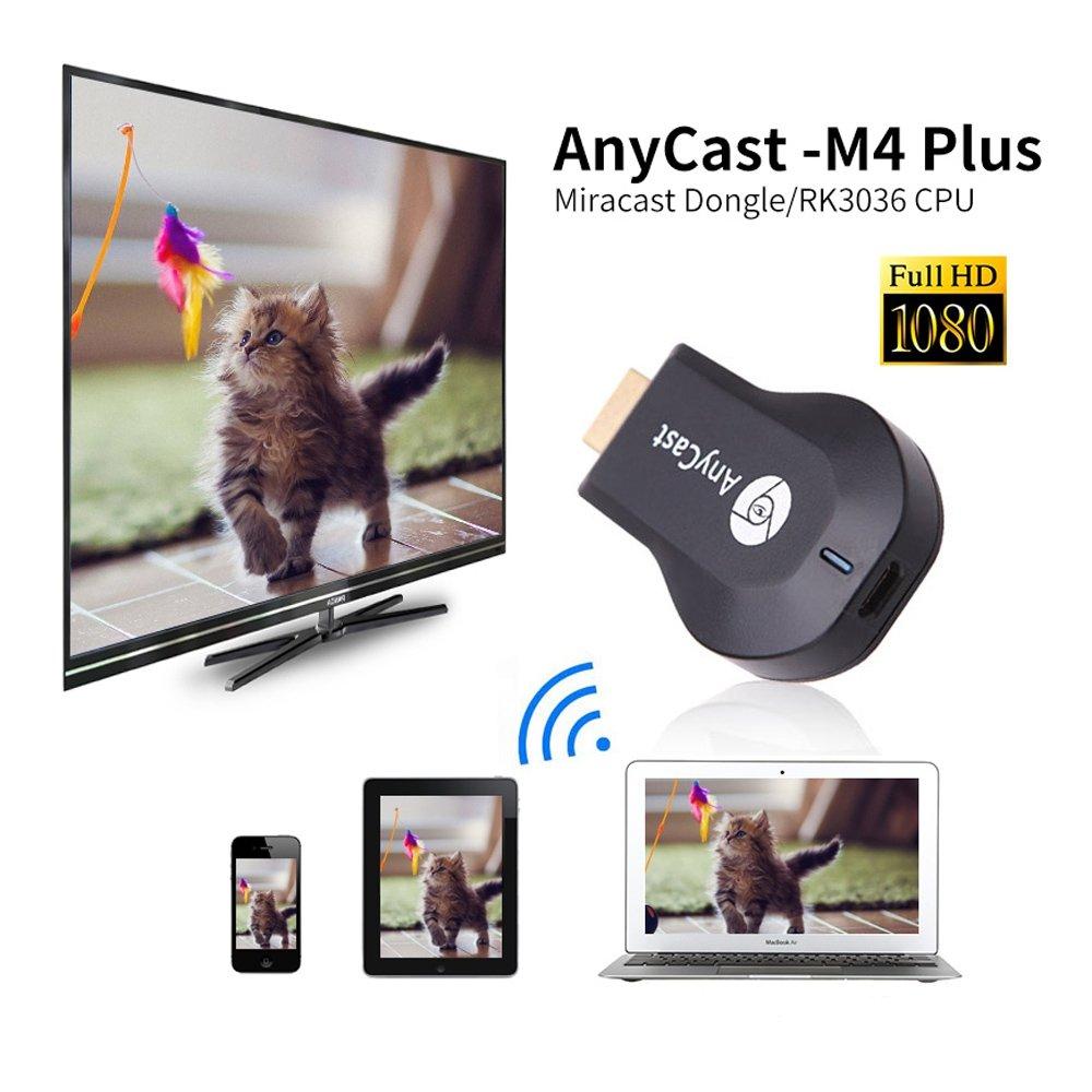 GUAITAI M4 Plus Wifi Display Dongle Wireless HDMI TV Receiver 1080P Resolution