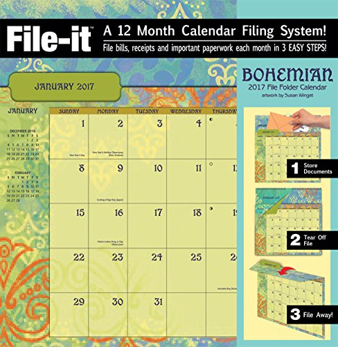 Wells Street by Lang 2017 Bohemian File-It by Susan Winget, January to December 2017 (17997006032)