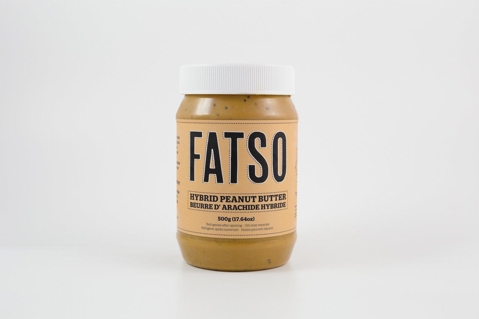 Fatso Hybrid Peanut Butter, 500 g