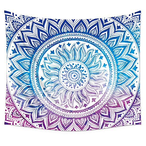 Uphome Medallion Pattern Tapestry Hanging