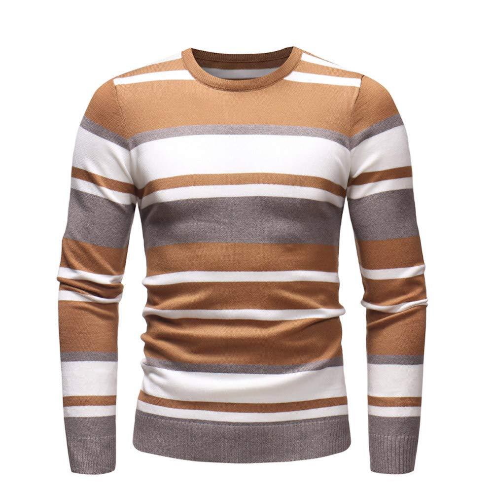 FRAUIT Herren Pullover Slim Jumper Strick Outwear Sweatshirt