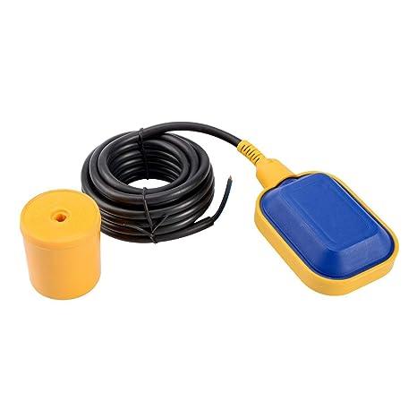Interruptor de flotador de Uotyle, sensor de regulación del nivel de agua con cable de