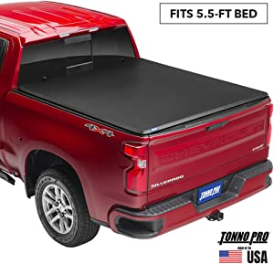"Tonno Pro Tonno Fold, Soft Folding Truck Bed Tonneau Cover | 42-310 | Fits 2001 - 2003 Ford F-150 5'5"" Bed"