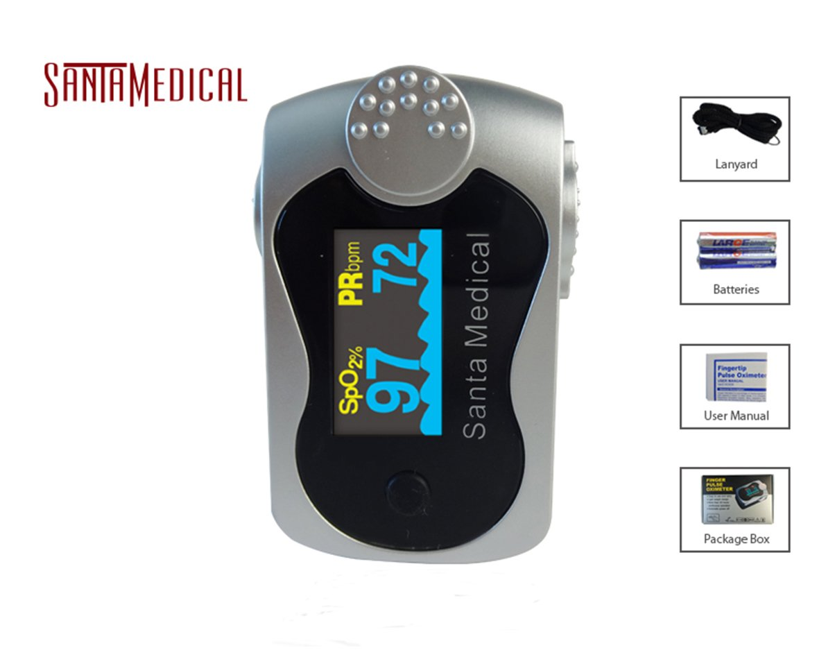 Santamedical SM-240 OLED Finger Pulse Oximeter