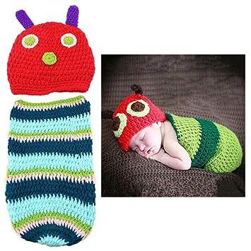 Fiyomet Bebé recién Nacido Photo Shoot Atrezzo Unisex Baby ...