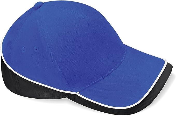 Cappellino Baseball Bicolore con Visiera Curva Sandwich Cotone Beechfield B171 CHEMAGLIETTE