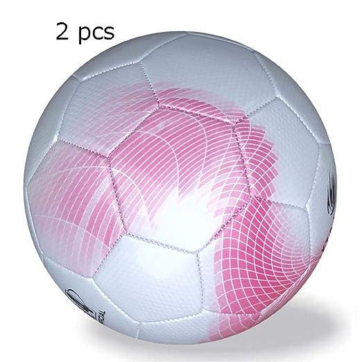 Balón de fútbol de 2 chicas para niños Tamaño oficial de 4 Fútbol ...
