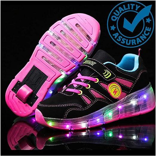 Skate Shoes Roller Shoes LED Light Up
