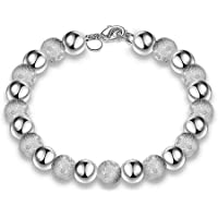 Hosaire Women's Elegant Bracelet with Round Beads