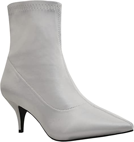 100% authentic size 40 excellent quality Amazon.com | Fashion Thirsty Womens Low Kitten Heel Ankle Boots ...
