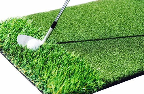 StrikeDown Dual-Turf Tour Golf Hitting Mat (48in x 36in) by Motivo Golf by Motivo Golf (Image #6)