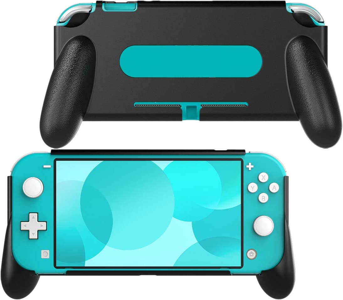 MoKo Funda con Asa Compatible con Nintendo Switch Lite, Accesorio de Mango Rellenos Integrados de Diseño Ergonómico Durable Cómodo para Nintendo Switch Lite y Joystick: Amazon.es: Electrónica