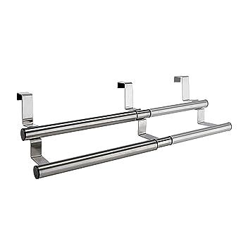 Handtuchhalter Küche Edelstahl | Handtuchhalter Kuche Ausziehbar 25 40cm Edelstahl 2stangen Aufhangen