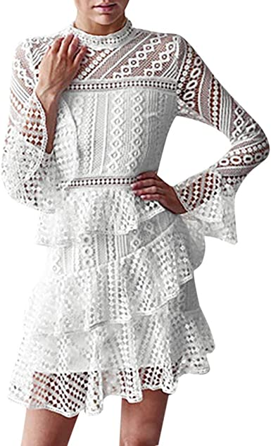 Robe de soirée Robe Dentelle Robe de Mariage Robe Blanche