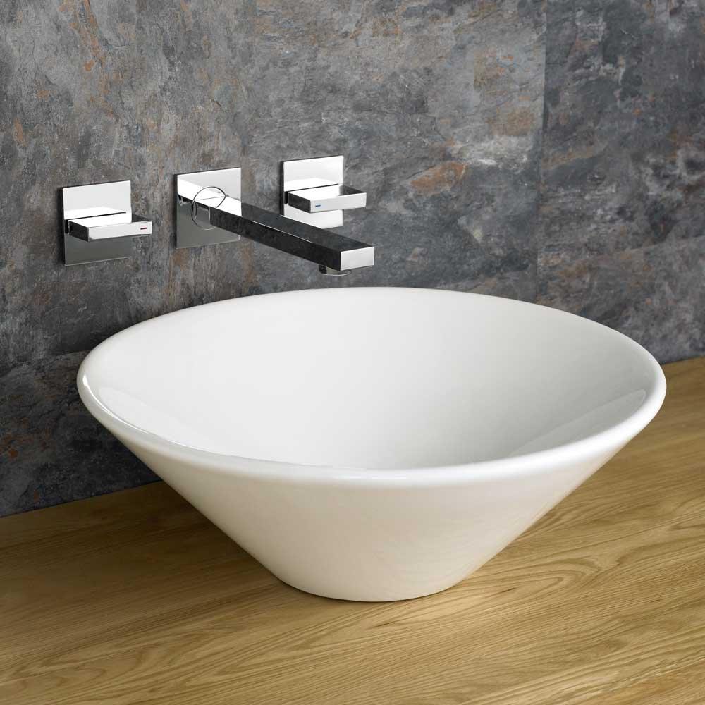 Clickbasin 42cm Diameter Round Fano Counter Top Basin
