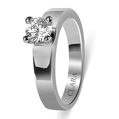 Silver Designer Ring | Clara Swarovski The Ramon 92 5 Sterling Silver Designer Ring For Men
