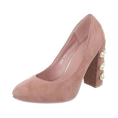 Cingant Woman Damen High Heels Pumps - Pink Pink, EU 38