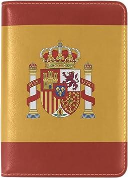 Spanish flag passport holder cover