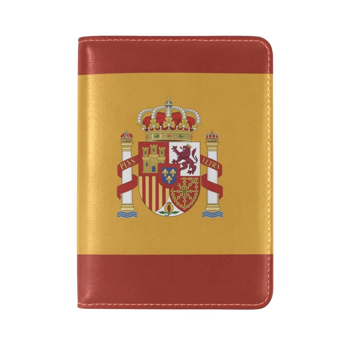 スペイン国旗パスポートホルダーカバー。 B07DWYW4BF