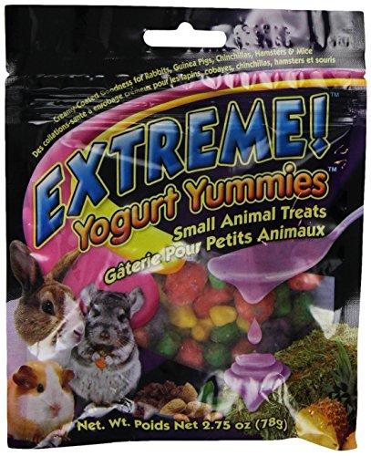 F.M.Brown'S 44495 Extreme Yogurt Yummies Small Animal Treat, 2.75-Ounce ()