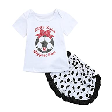 5eea2459a1af Bellelove 2018 Newest Baby Football Outfits Clothes