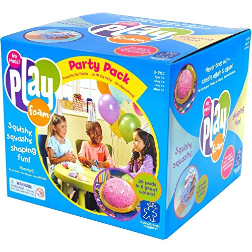Educational Insights Playfoam Party Pack of 20: Non-Toxic, Party Favors for Kids & Goodie Bags Stuffers for Kids, Ages 3…