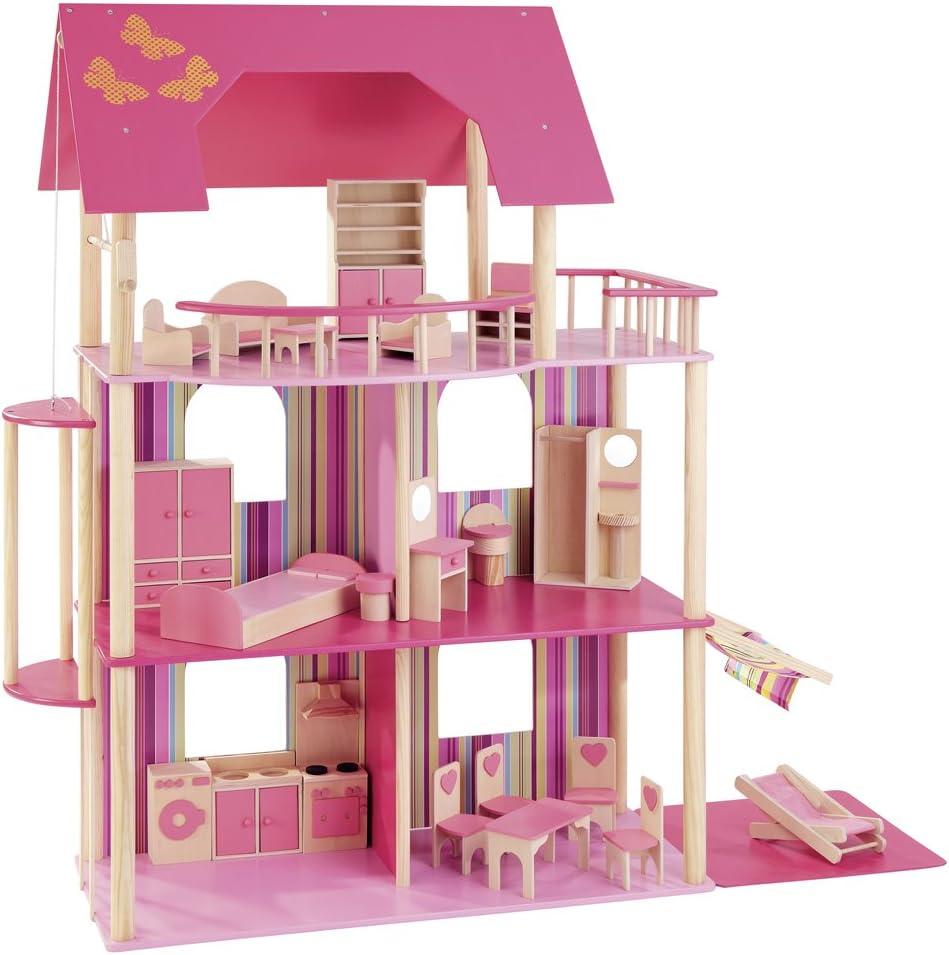 howa - Casa delle bambole con 22 mobili 70102: Amazon.it: Giochi e