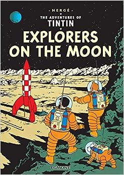 Explorers On The Moon por Hergé epub