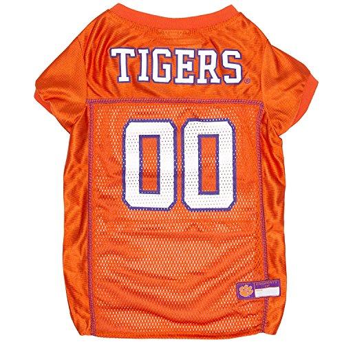 (Clemson Tigers Mesh Dog Football Pet Jersey (X-Large 24