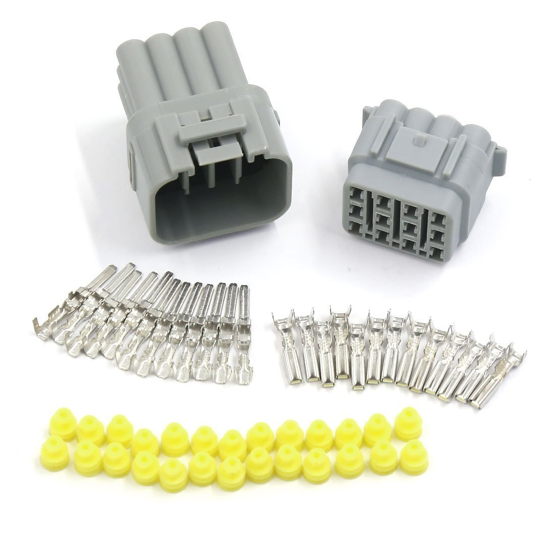 420x Non-Insulated Crimp Terminals Electrical Wiring Connectors Assortment