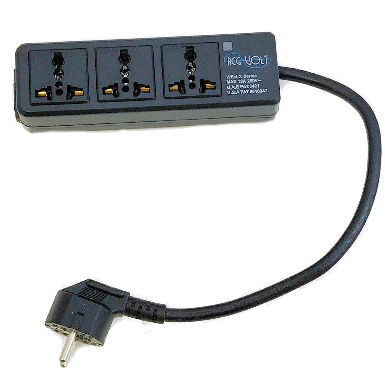 220V Power Strip, Plug Adapter, Shop 220 Volt European ...