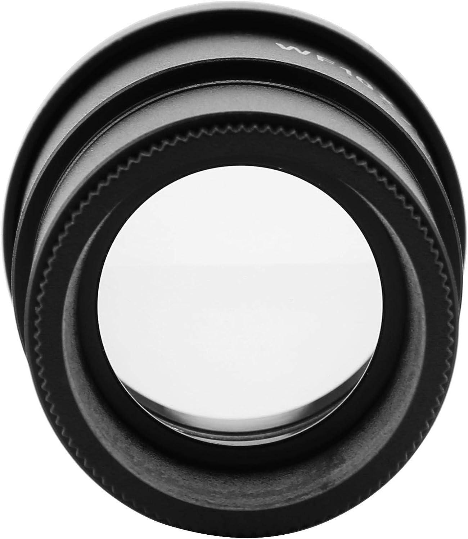 Akozon Eyepiece DM-WF005G WF10X Magnification Microscope Wide-angle Eyepiece Interface Diameter 30mm
