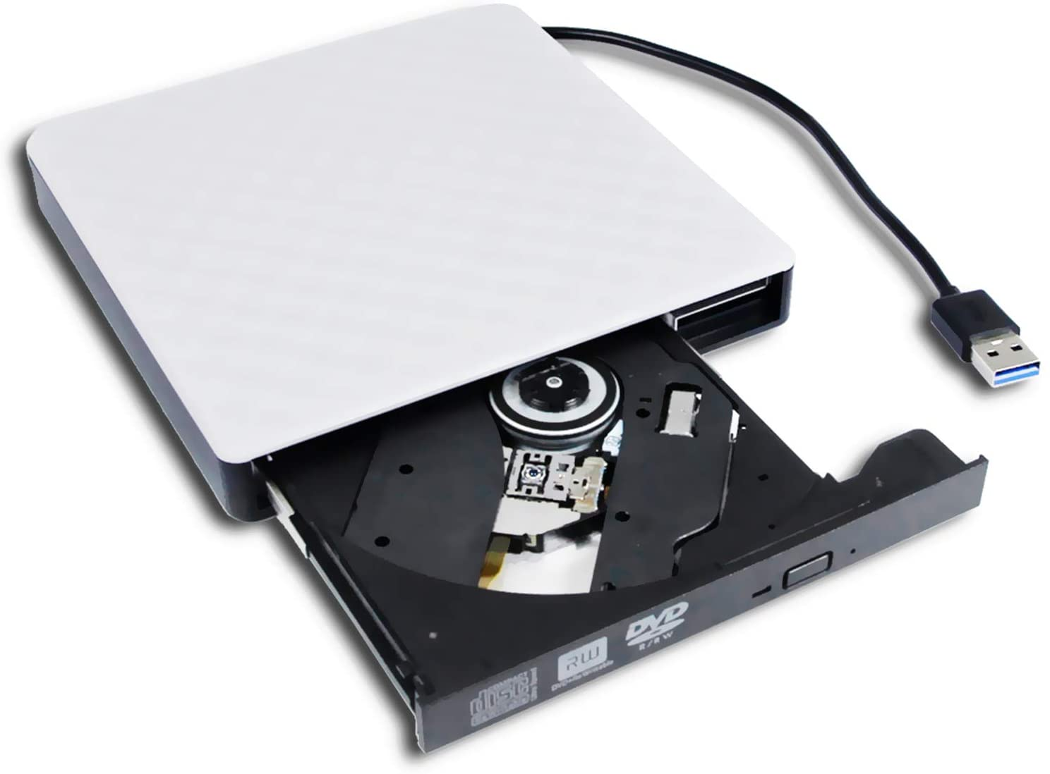 USB 2.0 External CD//DVD Drive for Asus A53e-eh71