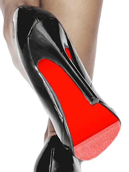 a272c0935a7 Amazon.com  Colored Shoe Sole Kit - DIY Red Bottom - Slip Resistant Shoe  Bottom Cover for Women s Heels (Dark Red)  Shoes
