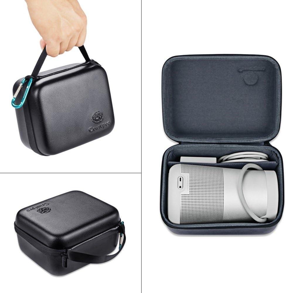 EVA /étuie,Noir Deylaying EVA Carry Protective Bo/îtier Dur /étui Housse Sac pour Bose SoundLink Revolve Haut-parleur Bluetooth