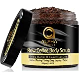 ALPHA CHOICE Body Scrub, D Tan, Exfoliating, Deep cleaning, Reduce Cellulite, Raw Coffee Scrub for Women and Men-100gm