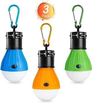 LED Zeltlampe USB Notfall Licht Outdoor Angeln Wandern Zubehör Tragbar