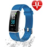 Letsfit Fitness Tracker Color Screen, Waterproof Activity Tracker with Heart Rate Monitor, Pedometer Watch, Step Counter, Calorie Counter, Sleep Monitor, Smart Bracelet Watch for Men Women Kids