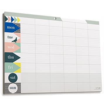 Weekly Planner Pad Amazon Co Uk Office Products
